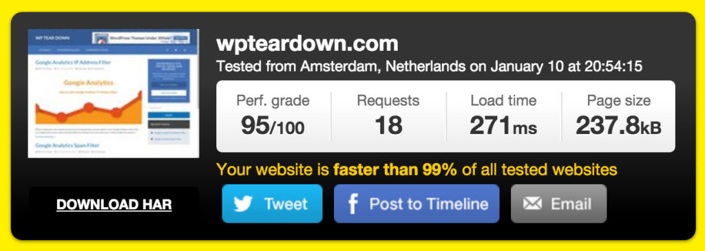 pingdom-wpteardown-test-results
