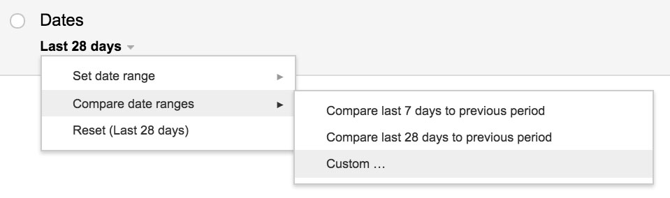 google-webmaster-tools-compare-date-ranges