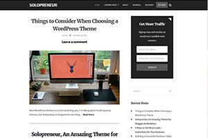 solopreneur-wordpress-theme-review